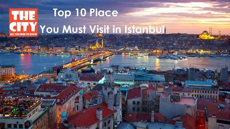 Top 10 Places You Must Visit In Istanbul Youtube