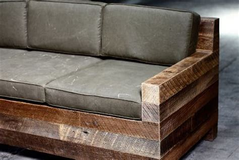 rustic outdoor sofa rustic made of four by fours with denim covered Rustic Outdoor Sofa