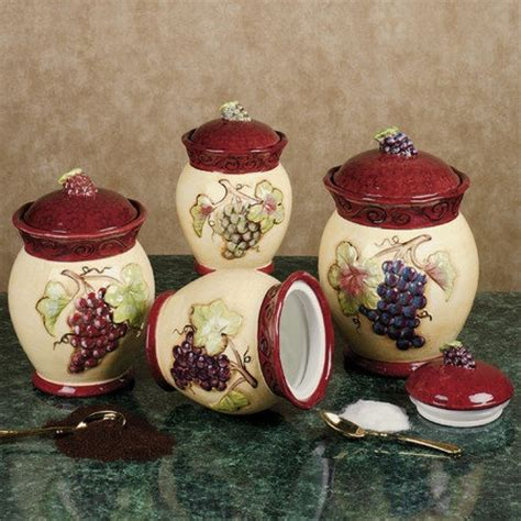 tuscan kitchen canister sets tuscan winery canister set 100 future home