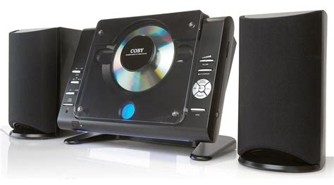 Coby Cxcd377 Mico Cd Player Stereo System With