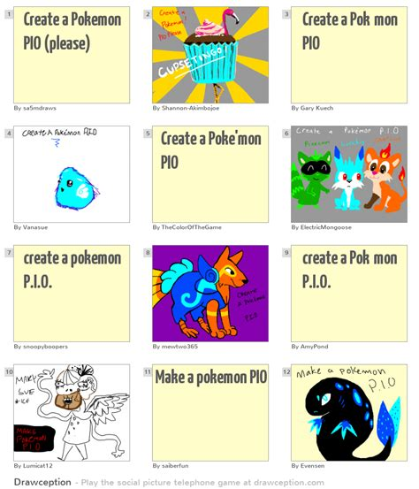 Create A Pokemon Pio (please