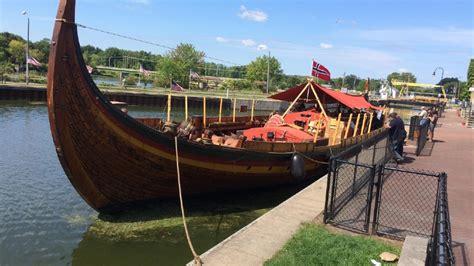 Viking Longboat York by After Crossing The Atlantic Modern Viking Ship