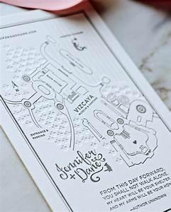miami architecture inspired wedding invitations With elegant wedding invitations miami