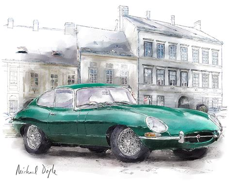 Jaguar E-type, One Of The World's Most Beautiful Cars Of