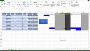 Diagramme De Gantt Avec Excel