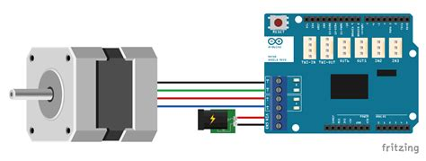 How Control Stepper Motor With Arduino Shield