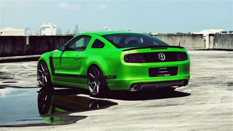 Ford Mustang Full Hd Wallpaper And Background Image