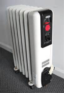 Electric Oil Filled Radiator Space Heater