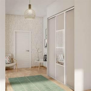 Portes De Placards Coulissantes : porte de placard coulissante s same spaceo x cm ~ Dailycaller-alerts.com Idées de Décoration