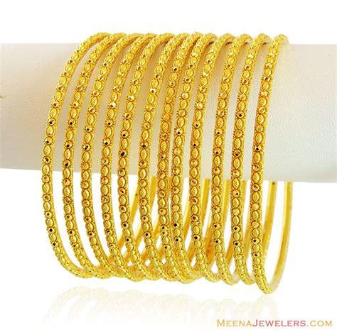 exclusive gold filigree bangles set bast bangles
