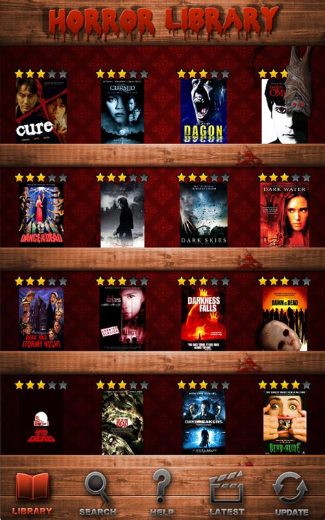 horror movies database app apple approved been releases amazon prweb