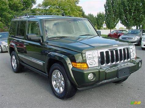 jeep limited 2006 2006 jeep green metallic jeep commander limited 4x4