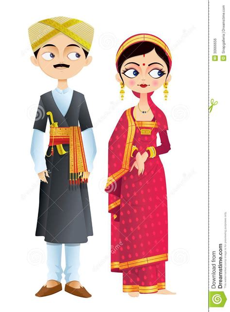 wedding couple  karnataka royalty  stock image
