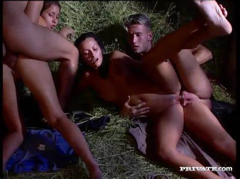 Sheila Scott And Vanda Creampie After A Fourway