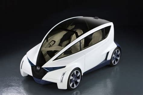 Compact Electric Cars by Future Transportation Honda P Nut Ultra Compact