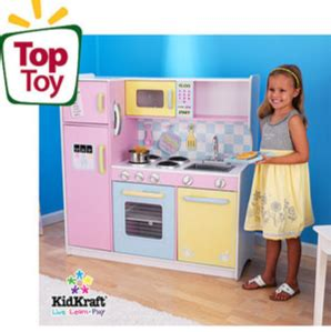 walmart play kitchen kidkraft large pastel play kitchen save 60