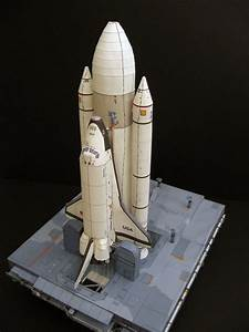 まぁるいしっぽ:Space ShuttleのPaper Craft