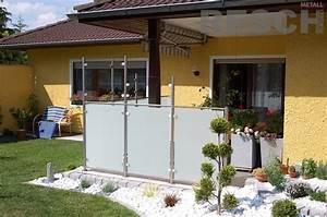 Edelstahl Sichtschutz Metall : wind und sichtschutz aus edelstahl resch metall design ~ Orissabook.com Haus und Dekorationen