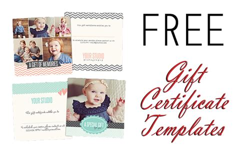 Photoshop Certificate Template by 14 Photography Gift Certificate Psd Template Images