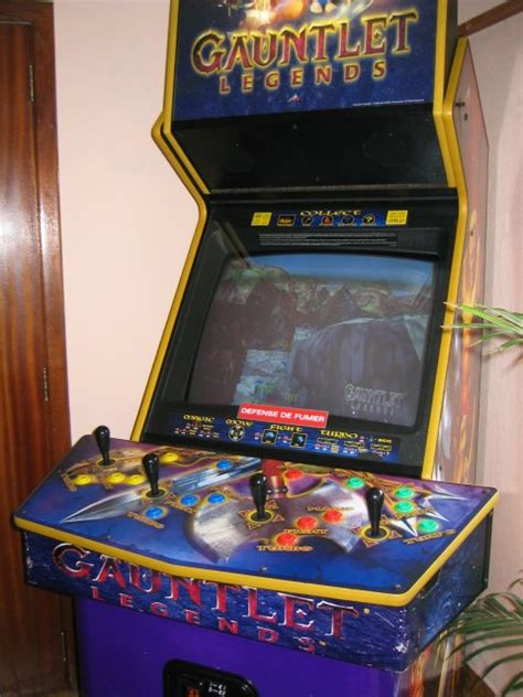 Gauntlet Legends Arcade Cabinet by The Gauntlet Legends Mame Dreamcast Project And