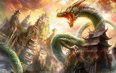 Dragon Fantasy China Wallpapers Desktop Backgrounds