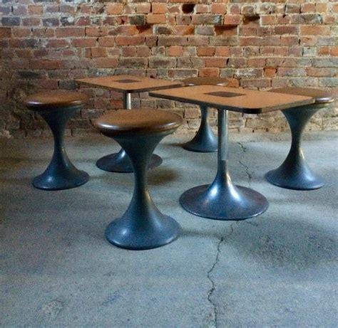Midcentury Tulip Table  Stools  Coffee Table Tulip
