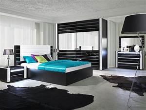 Design Schlafzimmer Komplett : hochglanz schlafzimmer komplett linn schwarz ~ Bigdaddyawards.com Haus und Dekorationen