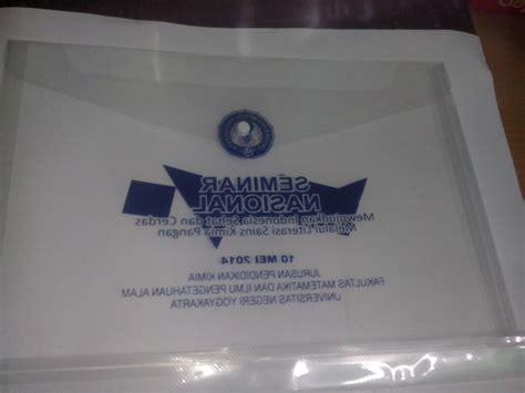 cetak map plastik murah cetak sablon merchandise