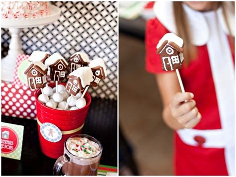 gingerbread house party ideas  printables design