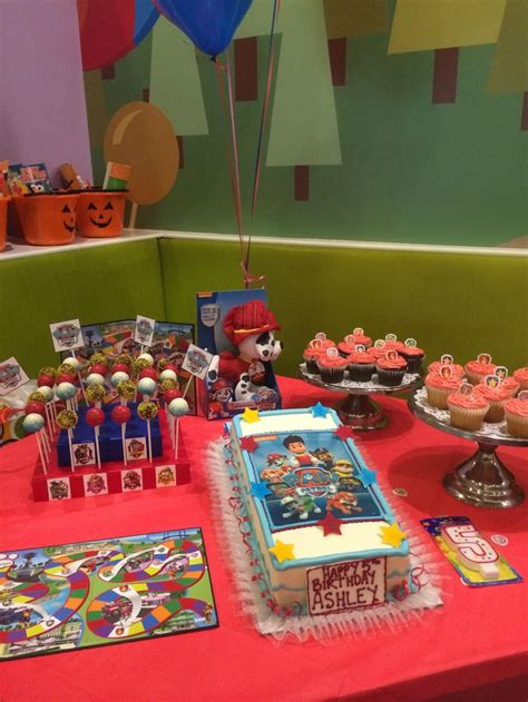paw patrol dessert table paw patrol birthday party