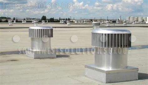 warehouse exhaust fan installation wind powered exhaust turbines reduce temperatures