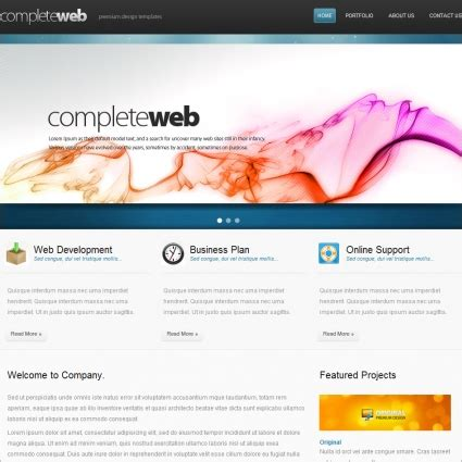 best free web design best webdesign template free website templates in css