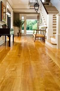 Birch, Wood, Floors, In, A, Residential, Entryway