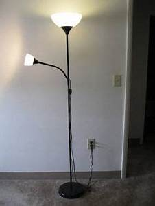 not floor uplighter reading lamp white ikea source With ikea uplighter floor light lamp modern black white