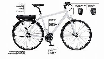 Shimano Steps E6000 System Lineup Further Bike