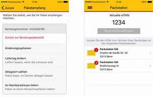Dhl Packstation App : dhl app verbessert flexiblere lieferoptionen und ~ A.2002-acura-tl-radio.info Haus und Dekorationen