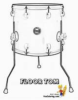 Drum Drums Coloring Yescoloring Pages Printable Toms Djembe Floor Bongo Printables Cool Percussion sketch template
