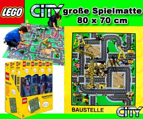 Mat Site - lego city play rug mat construction site 80x70cm new ebay