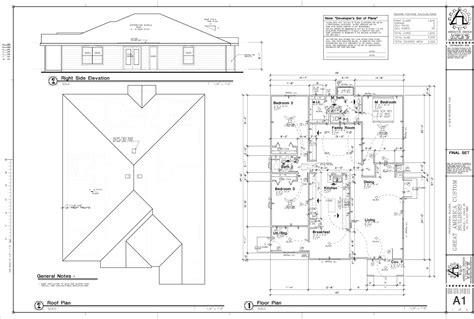 Sample Residential Floor Plans Amp Elevation Joy Studio