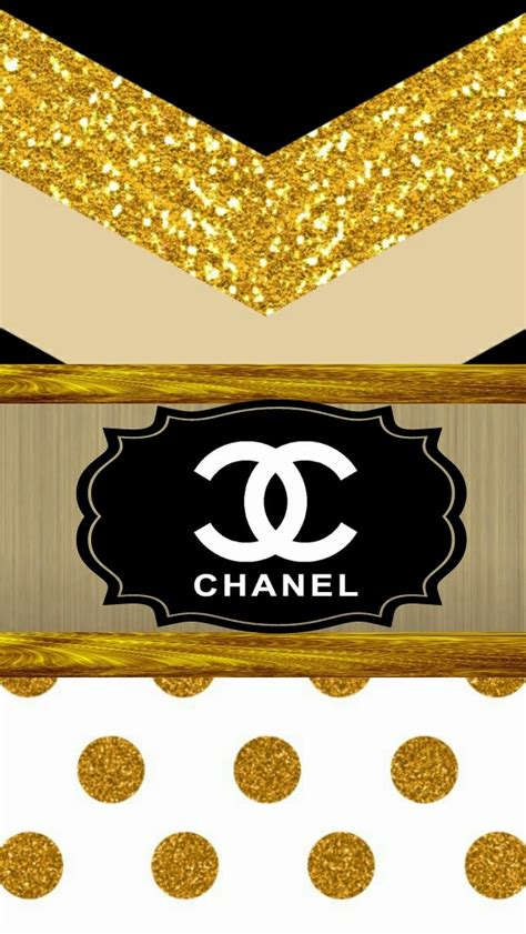 chanel gold wallpaper gallery