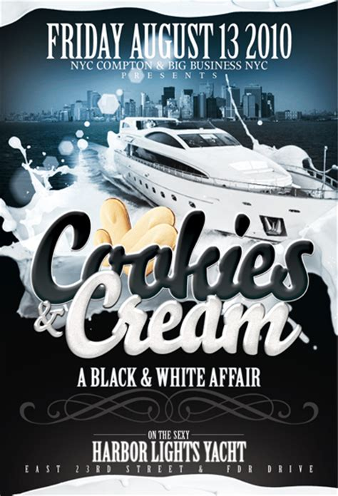 All White Affair Boat Ride Nyc by Summer Series Boat Ride Cookies A Black And