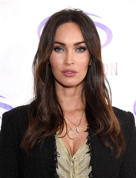 megan fox  avere onde flawless  le sue glamourit