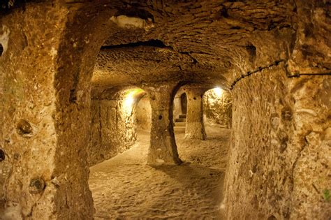 mysterious underground cities history