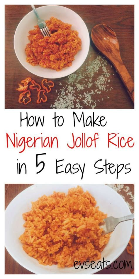 We start with both the corn and the peas. How to Make Jollof Rice in 5 Easy Steps - Ev's Eats | Jollof rice, African food, Nigeria food