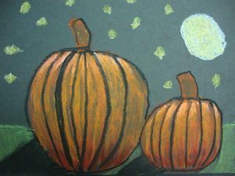 oil pastel pumpkins ms campbells classes