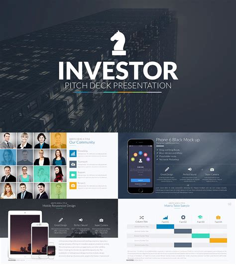 Pitch Deck Template 25 Best Pitch Deck Templates For Business Plan Powerpoint