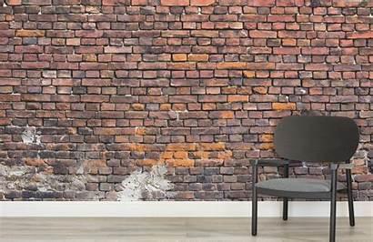 Brick Urban Decayed Muralswallpaper Mural
