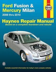 how to download repair manuals 2011 ford fusion security system ford fusion manual ebay