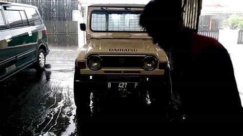 daihatsu taft f50 firstowner kebo badak wildcat 4x4 treffen jakarta indonesia