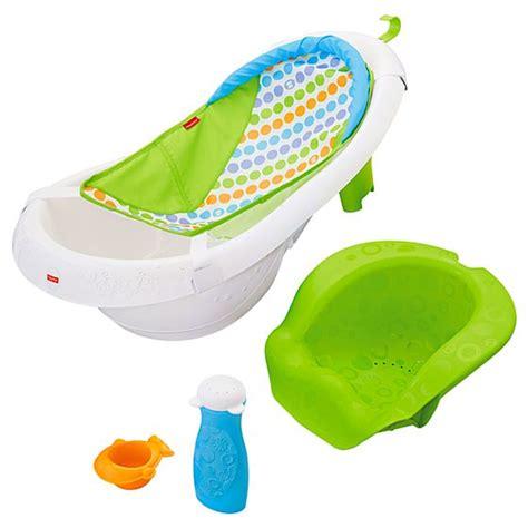 fisher price bathtub 4 in 1 sling n seat tub